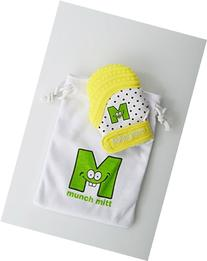 Baby Mini Teething Mitten Yellow Infant/Preemie Size by