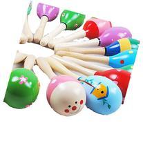 Usstore 1PC Kid Baby Child Baby Mini Wooden Ball Children