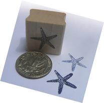Miniature sea star rubber stamp
