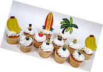 Despicable Me MINION 12 Piece Birthday CUPCAKE Topper Set