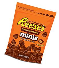 REESE'S Peanut Butter Cups Minis, 8 Ounce