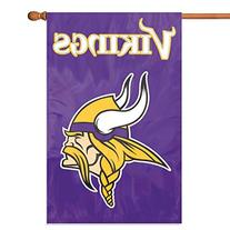 Party Animal Minnesota Vikings Banner NFL Flag