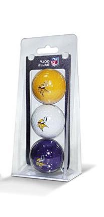NFL Minnesota Vikings 3-Pack Golf Balls