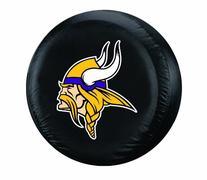 NFL Minnesota Vikings Tire Cover, Black, Large
