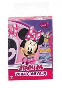 Disney Minnie Mouse Bowtique Jumbo Playing Cards - Oversized
