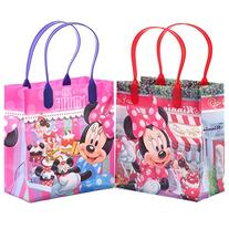 Disney Minnie Mouse Party Favor Goodie Small Gift Bags 12