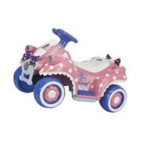 Disney Minnie Mouse 6 Volt Quad Powered Ride On