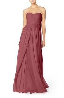 Women's Jenny Yoo Mira Convertible Strapless Pleat Chiffon