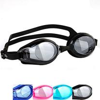 Eforstore Mirrored Swimming Goggles Adult Waterproof Anti-