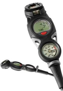 Mares Mission Puck 3 Dive Console w/ Compass - Metric -
