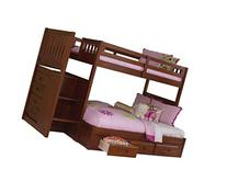 Discovery World Furniture Mission Staircase Bed with 3