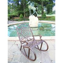 Oakland Living 2114-AB - Mississippi Rocking Chair - Antique