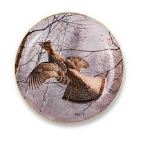 Misty Morning Grouse by David Maass 9.25 Decortive Collector