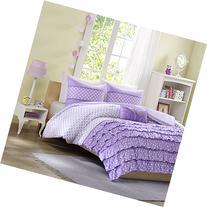 Mi-Zone Morgan Comforter Set Twin/Twin Xl Size - Purple,