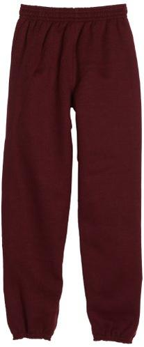 MJ Soffe Big Boys' Sweatpant, Maroon, Small