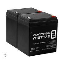 Mighty Max Battery ML5-12 - 12V 5AH Battery for Razor E100
