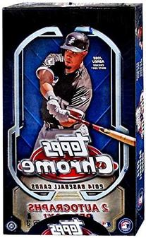 MLB 2014 Topps Chrome Hobby Baseball box