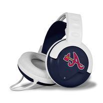 MLB Atlanta Braves White-Navy Blue Fan Jams Over-Ear