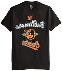 MLB Baltimore Orioles Men's 58T Tee, Black, Large