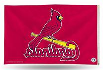 MLB St. Louis Cardinals 3-Foot by 5-Foot Banner Flag
