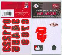 Rawlings MLB Logo Batting Helmet Decals Yankees