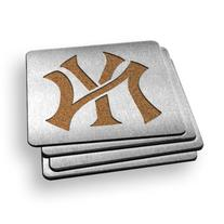 MLB New York Yankees Boasters, Heavy Duty Stainless Steel