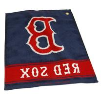 MLB Boston Red Sox Woven Towel, Navy