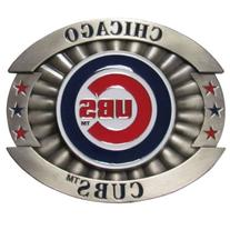MLB Chicago Cubs Oversized Buckle