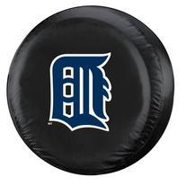 MLB Detroit Tigers Tire Cover, Black, Large