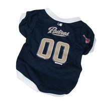 MLB Dog Clothing - San Diego Padres Dog Jersey - Medium