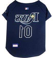 MLB Dog Clothing - Tampa Bay Rays Dog Jersey - Large