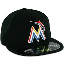 MLB Miami Marlins Home AC On Field 59Fifty Fitted Cap-814