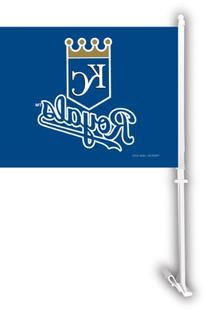 MLB Kansas City Royals Car Flag