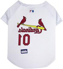 Pets First MLB St. Louis Cardinals Dog Jersey