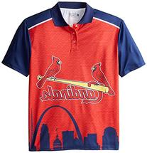 KLEW MLB St. Louis Cardinals Polyester Short Sleeve Thematic