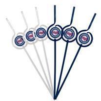 MLB Minnesota Twins Six Pack Team Sip Sport Straws