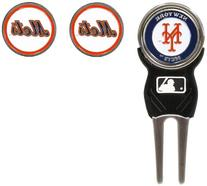 MLB New York Mets 3 MKR Sign DVT Pack, Orange