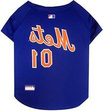 Pets First MLB New York Mets Dog Jersey, Medium
