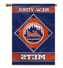 MLB New York Mets House Banner, 28 x 40-Inch