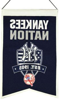 MLB New York Yankees Nations Banner
