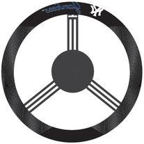 MLB New York Yankees Poly-Suede Steering Wheel Cover