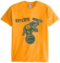 MLB Oakland Athletics Men's 58E Tee, Gold, Large