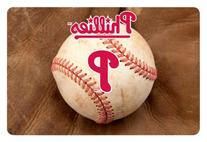 MLB Philadelphia Phillies Baseball Pet Mat