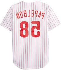 MLB Philadelphia Phillies Men's J Papelbon 58 Replica Jersey
