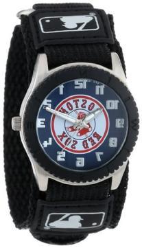 "Game Time Unisex MLB-ROB-BOS2 ""Rookie Black"" Watch - Boston"