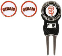 MLB San Francisco Giants 3 MKR Sign DVT Pack, Black