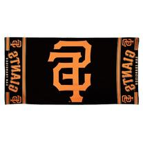 MLB San Francisco Giants 30 by 60 Fiber Reactive Beach Towel
