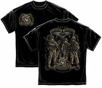 Erazor Bits MM2135S USMC Time Honor Traditon Eagle Mens T-