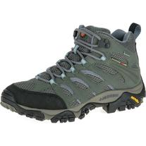 Merrell Moab Mid GTX Boot - Women's Grey/Periwinkle, 9.0