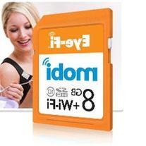 Mobi 8GB SDHC Card MOBI8 By Eye-Fi